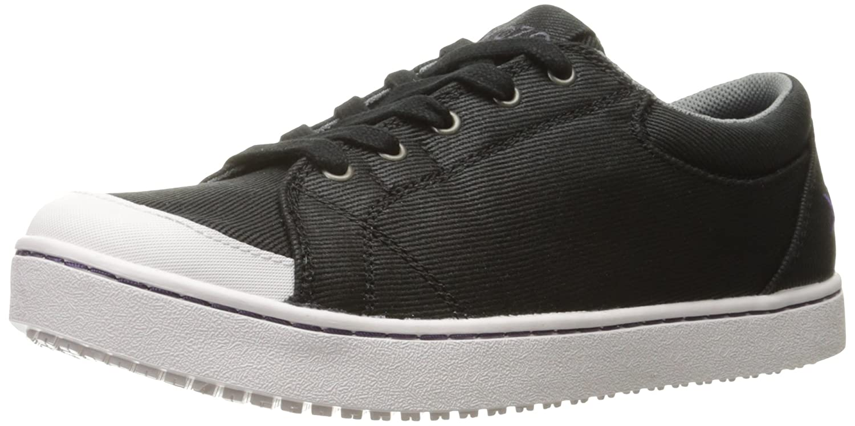 MOZO Women's Maven Food Service Shoe B01MUHP0YF 8.5 B(M) US|Black/White