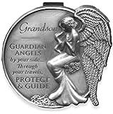 Angelstar 15687 Grandson Guardian Angel Visor Clip Accent, 2-1/2-Inch