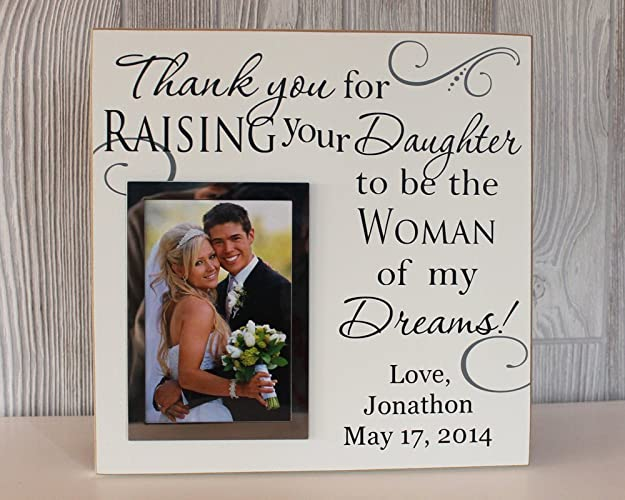 Amazon.com: 12x12, Thank you for raising your daughter to be the ...