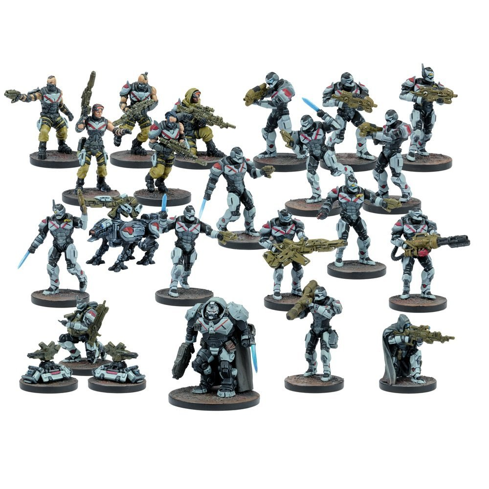 Mantic Games MGDZE101 Deadzone Enforcer Faction Starter Playset by Mantic Games