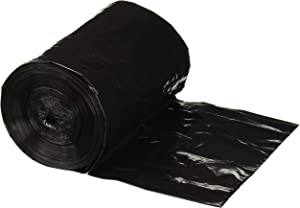Plasticplace 12-16 Gallon Trash Bags ¦ 0.8 Mil ¦ Black Garbage Can Liners ¦ 24