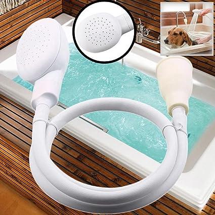 Elever Shower Head Spray Drains Strainer Hose Sink Washing Hair Dog Shower  Head Pet Bath Tool