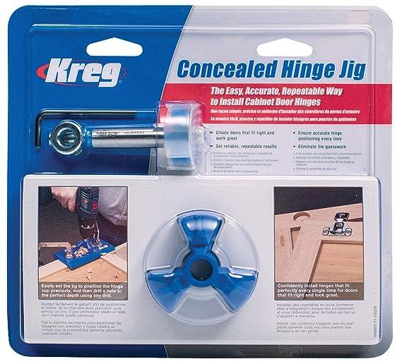 Kreg Tool Company Khi Hinge Concealed Hinge Jig