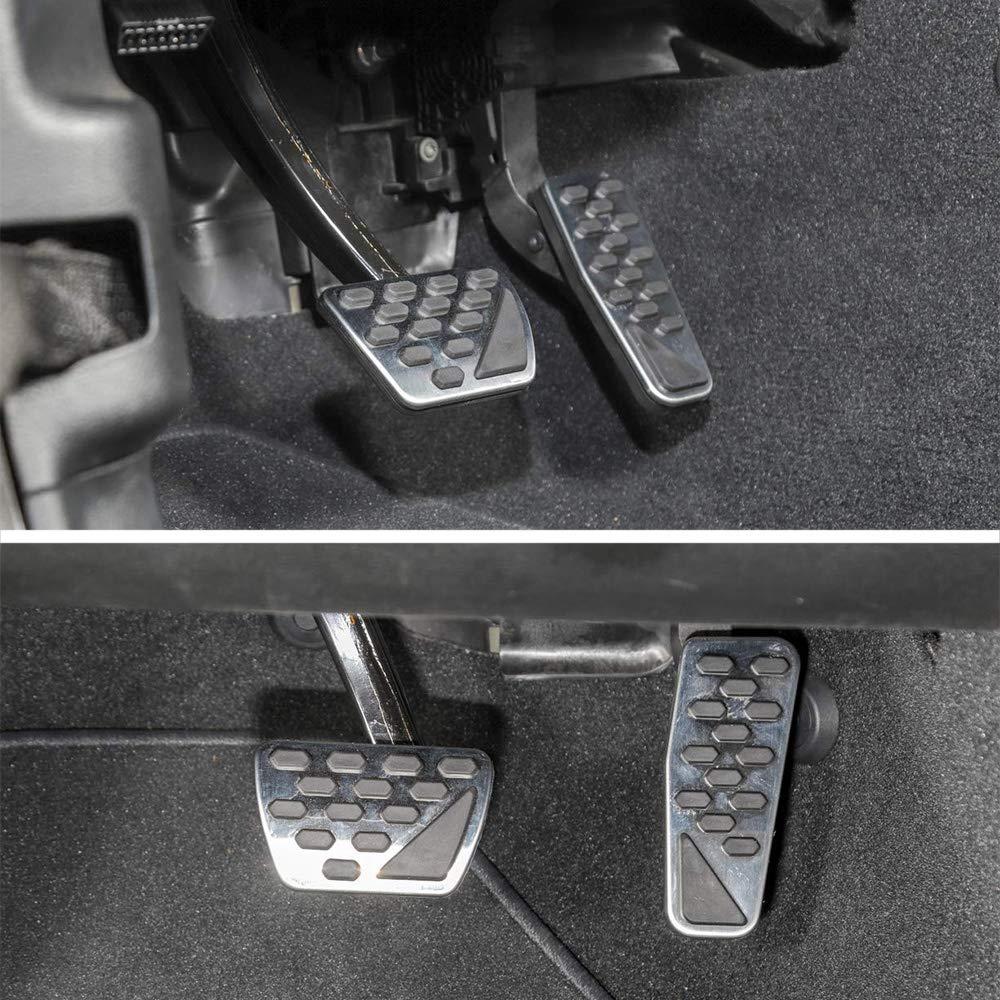 Gasbremshebelabdeckung passend f/ür Jeep Wrangler JK JKU 2018 2019