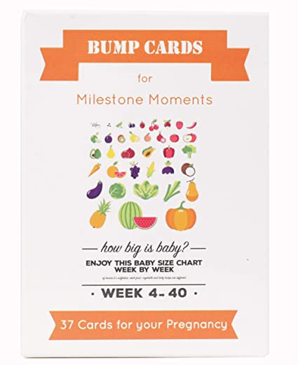Buy Pregnancy Milestone Photo Sharing Belly Bump Cards Online At Low