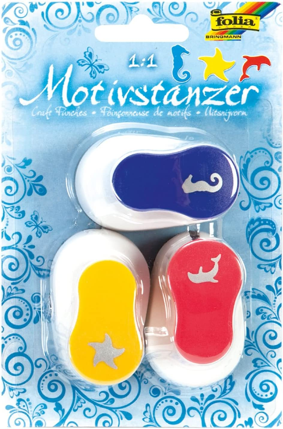 *Motivstanzer Luftballon ca.7,5 cm Motivlocher Stanzer Hebelstanzer Basteln DYI