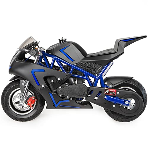 Xtremepowerus Outdoor Gas-Powered Mini Pock Bike Motorcycle