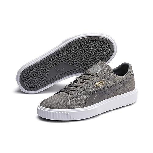 606316d5 Puma Breaker Suede, Zapatillas Unisex Adulto, Gris White-Charcoal Gray 7,  39 EU: Amazon.es: Zapatos y complementos
