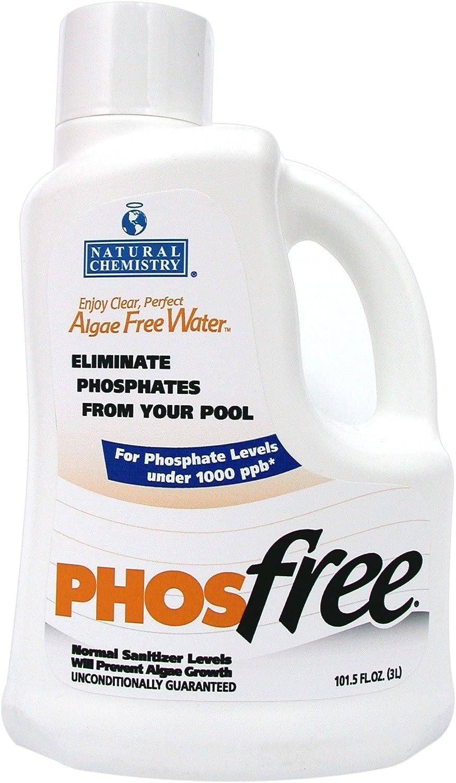 Natural Chemistry 05121 Phos Free Pool Cleaner, 3-Liter