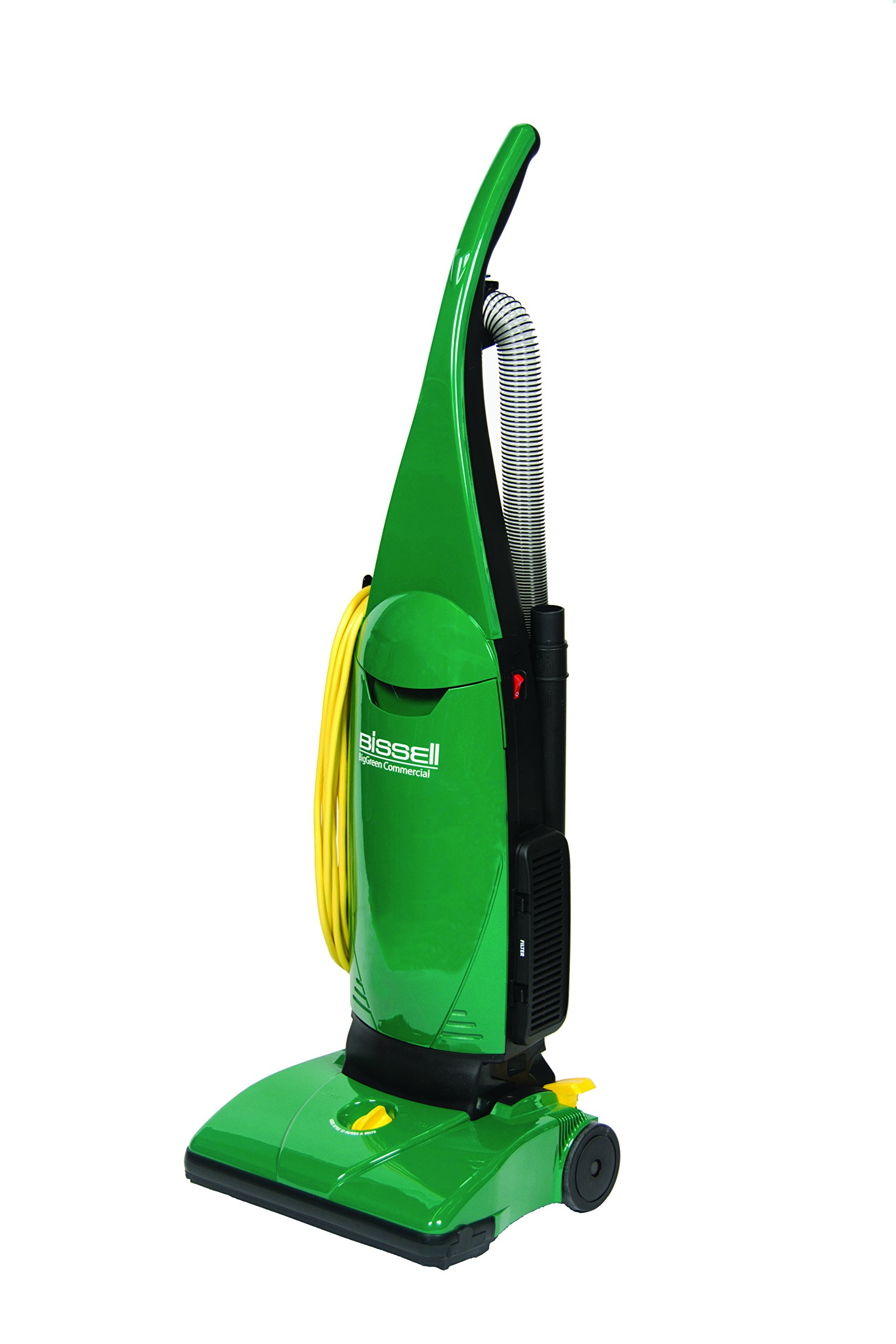 BISSELL BigGreen Commercial BGU1451T Pro PowerForce Bagged Upright Vacuum, Single Motor with Onboard Tools by Bissell