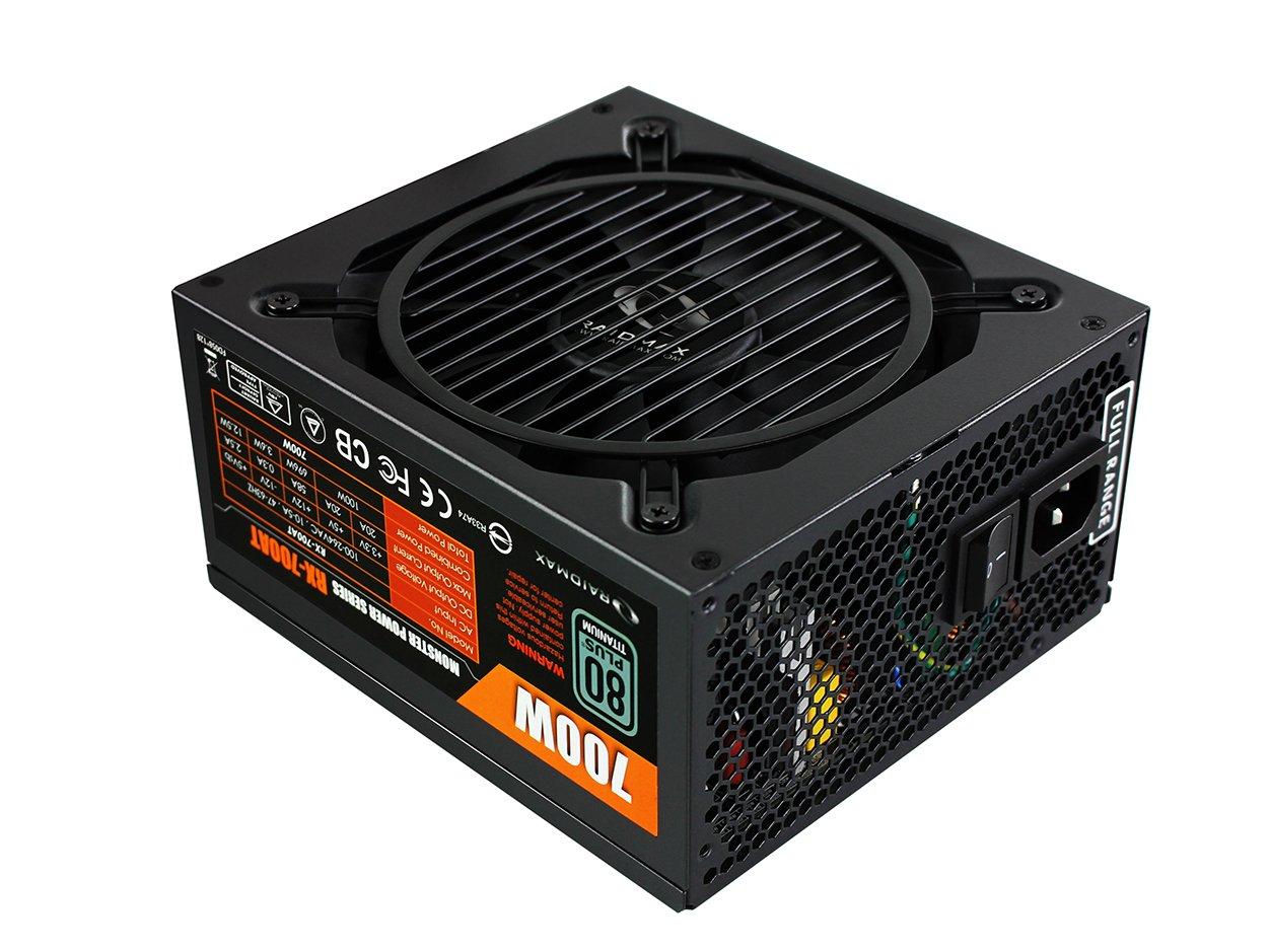 Raidmax 700W Titanium Monster Modular Power Supply