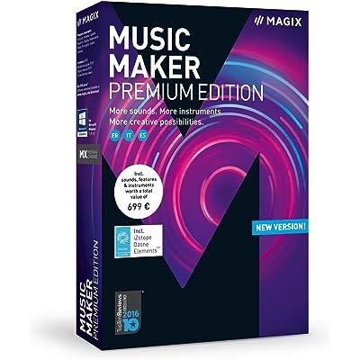Magix Music Maker 2018 Premium Edition - Software De Producción De Música, PC, Italiano, Francais