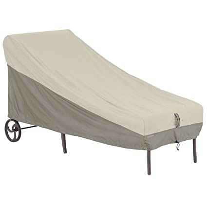 Amazon.com: Classic Accessories belltown Patio, chaise, gris ...