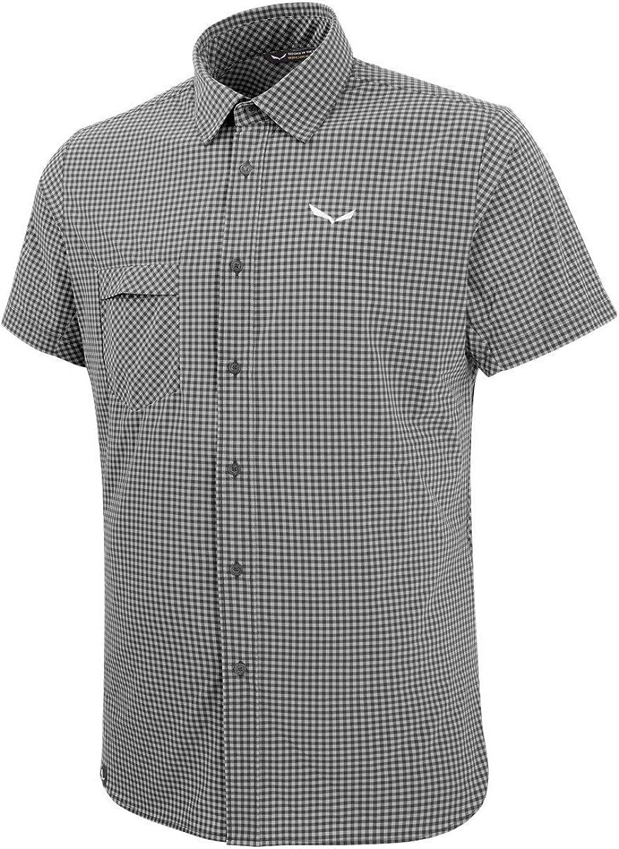 SALEWA Puez Dry M S/S SRT Camisa, Hombre: Amazon.es: Deportes y aire libre