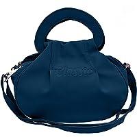 Sk Noor Enterprises Fancy Stylish Elegant Women's Cross Body Sling Bag (Navy Blue)