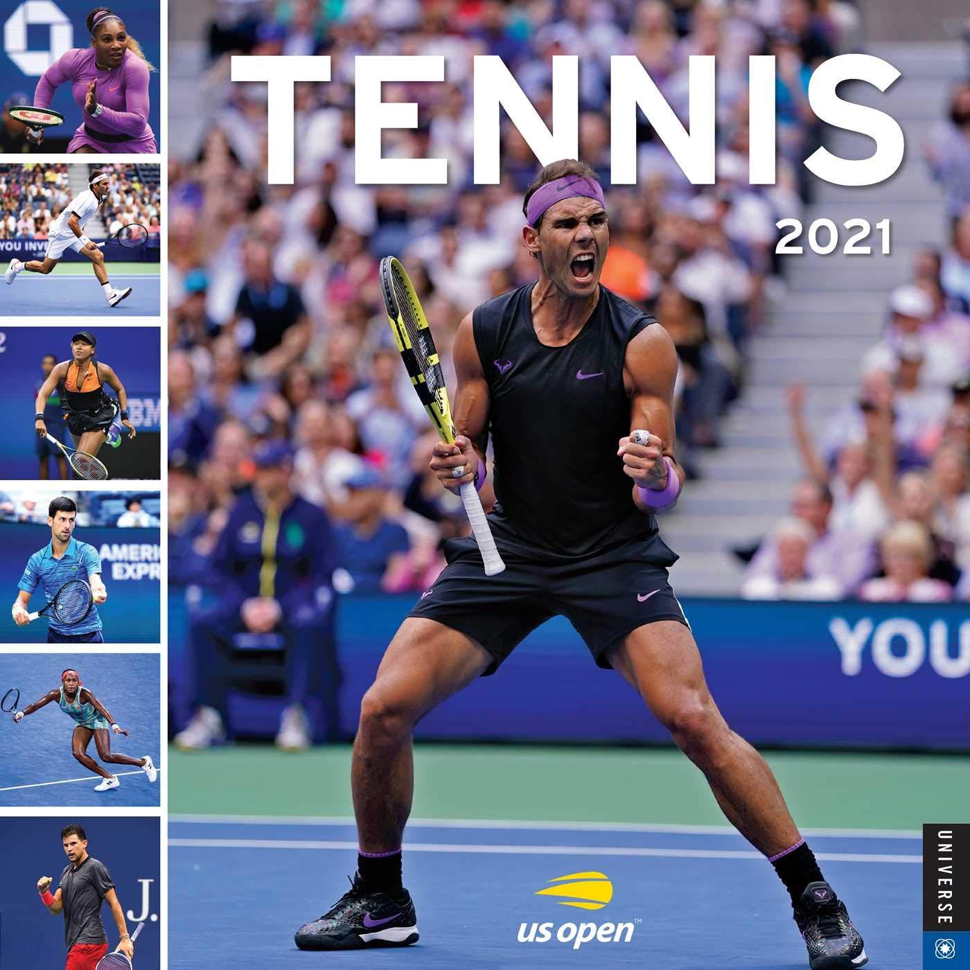 Tennis 2021 Wall Calendar: The Official U.S. Open Calendar: United