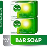 Dettol Original Anti-bacterial Bar Soap 120gm (2+2)