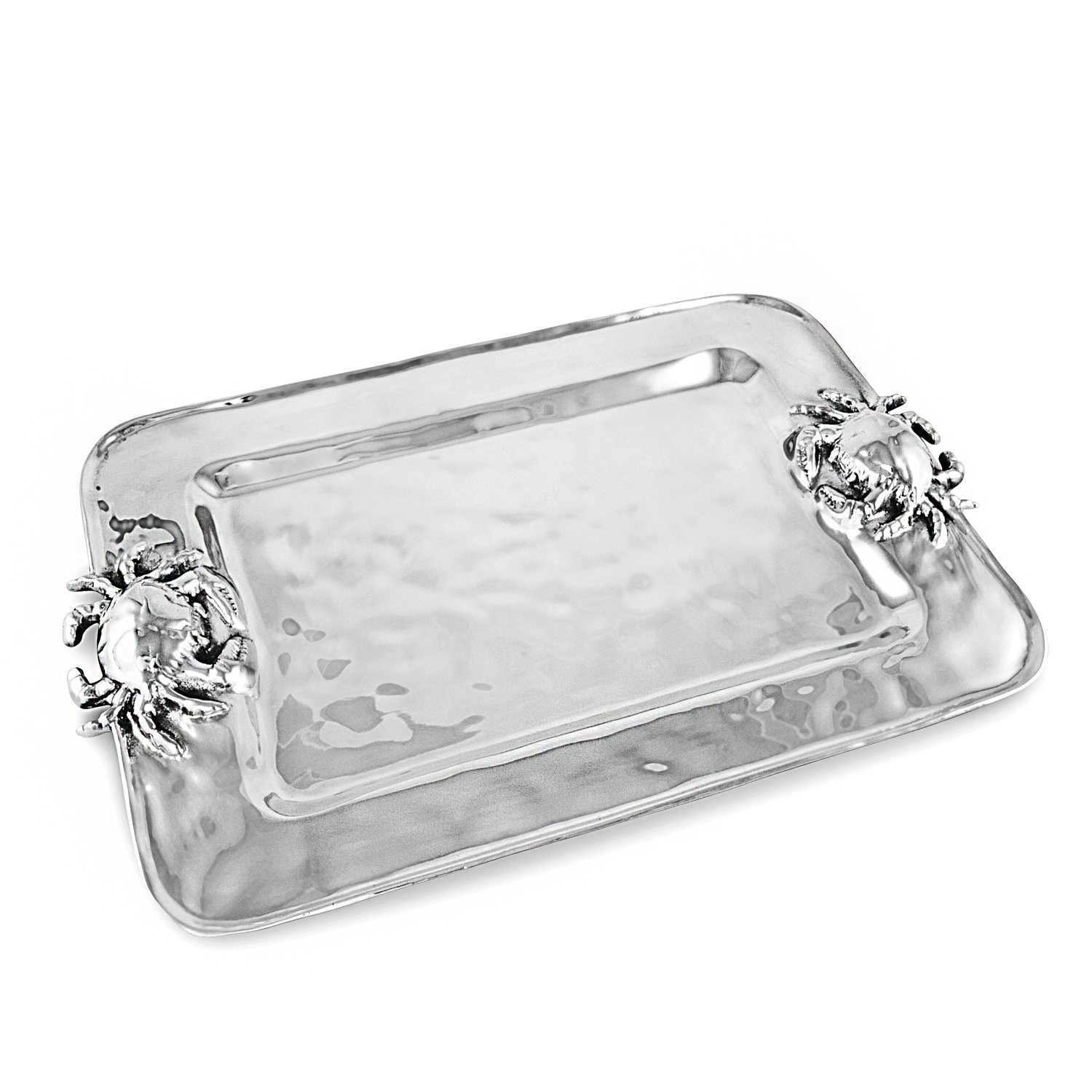 Beatriz Ball_6389 serving platters, Metallic