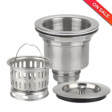Kitchen Sink Strainer, Inchic 3 1/2\