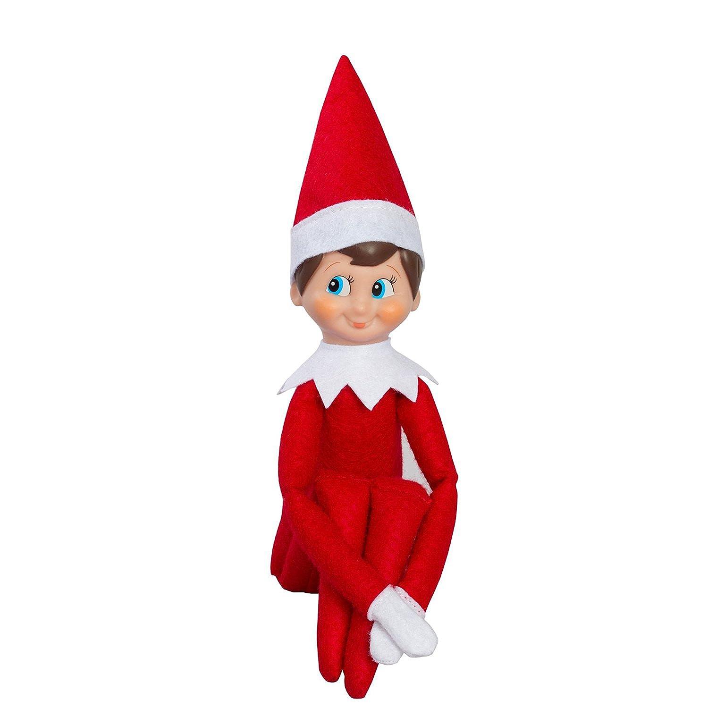 amazon com elf on the shelf blue eyed boy with bonus pet reindeer