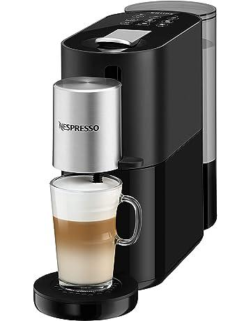 Krups Nespresso Cafetera de cápsulas, plástico, negro/plata ...