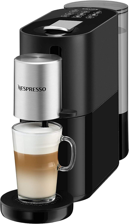 Krups Nespresso Cafetera de cápsulas, plástico, negro/plata: Amazon.es: Hogar