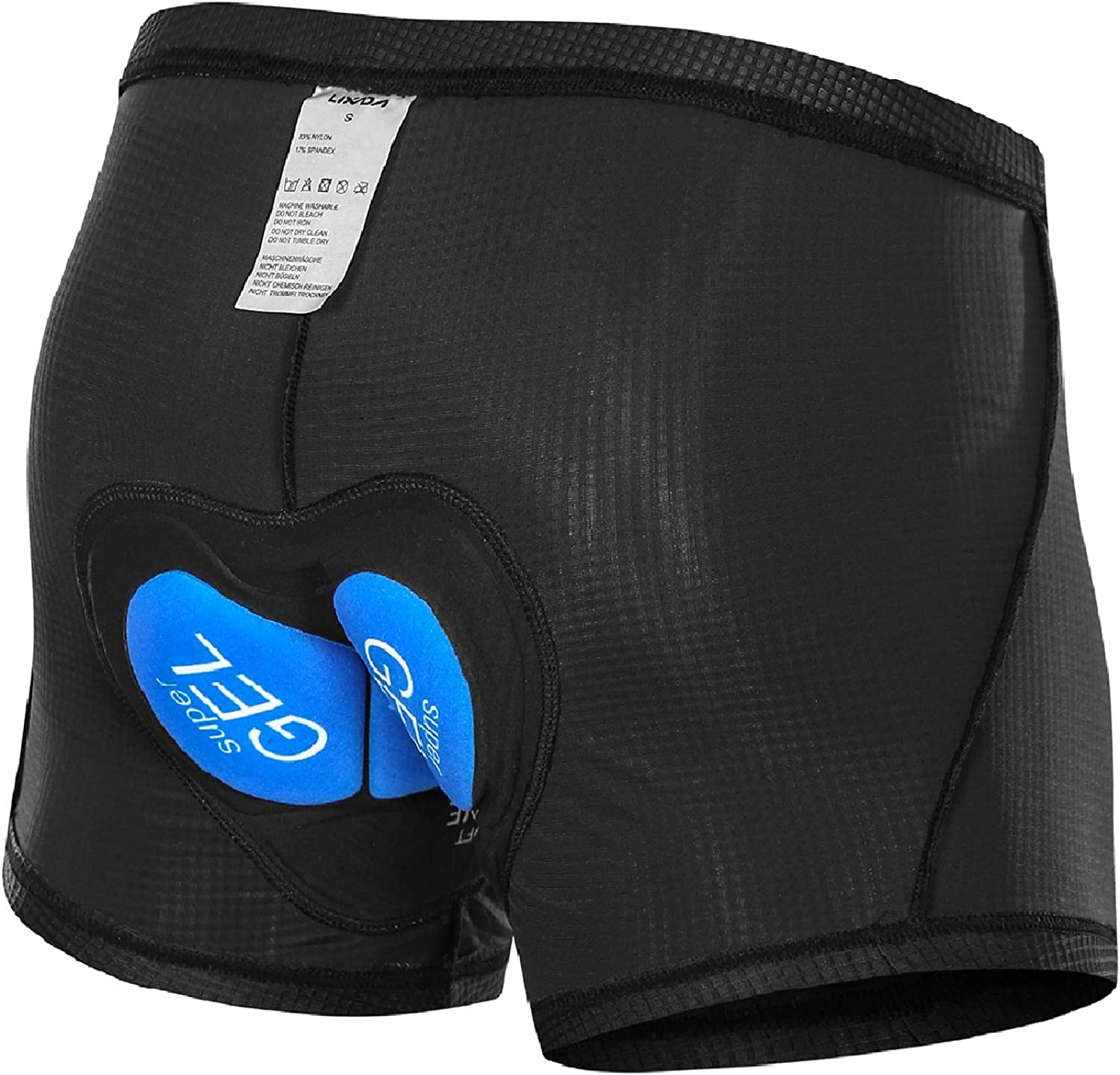 Men/'s Bike Cycling Underwear Shorts 3D Padded Breathable For Bicycle MTB Sports