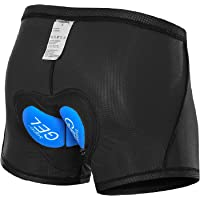 Lixada Cycling Shorts 3D Padded MTB Bicycle Bike Underwear Shorts Breathable Quick Dry Shorts for Men&Women