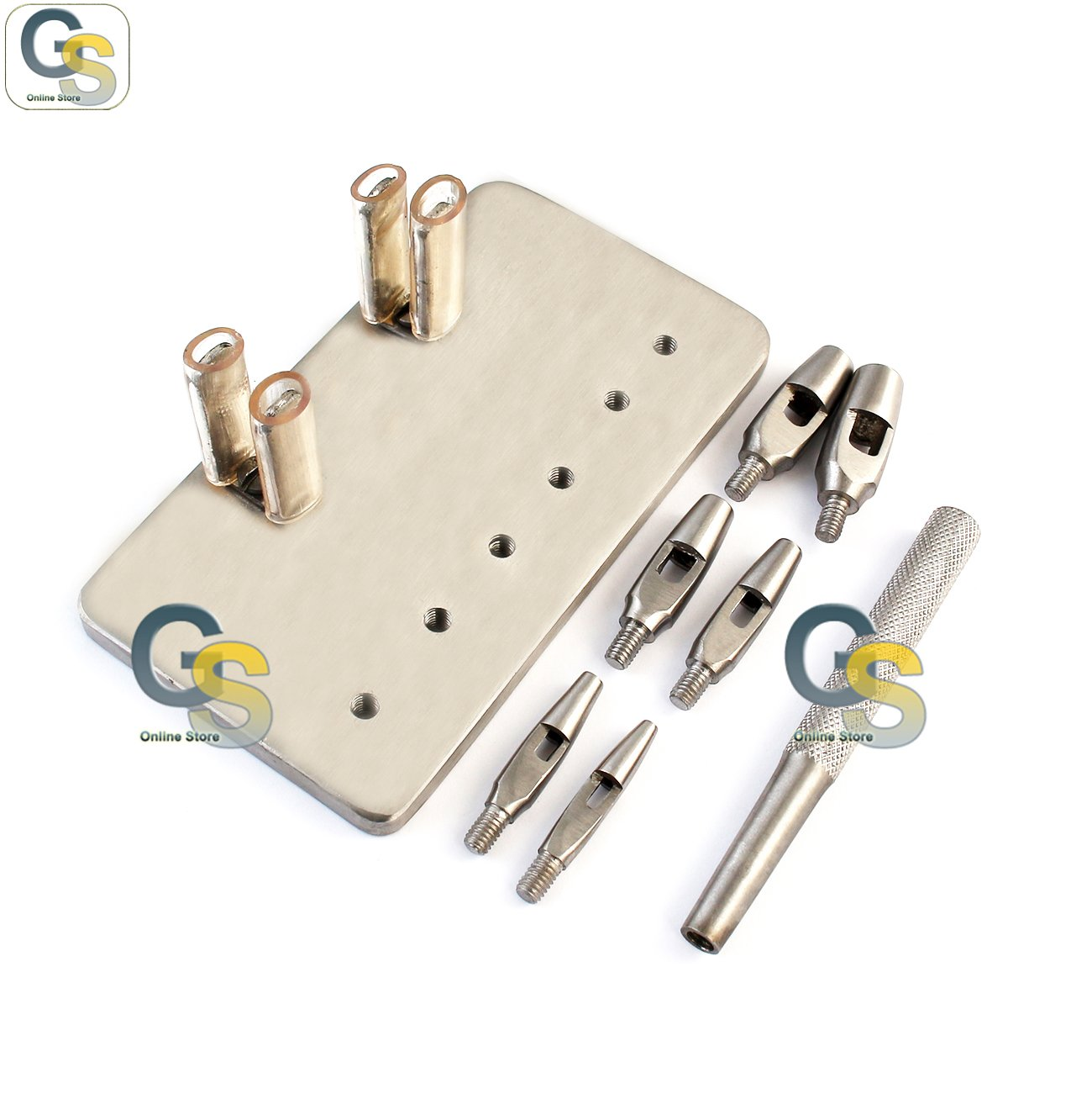 G.S SET 6 KEYES DERMAL PUNCHES 4''