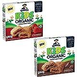 Quaker Kids Organic Multigrain Bars, Variety Pack, USDA Certified Organic (5 Count of 1.05 oz Bars), 5.2 oz, Pack of 4