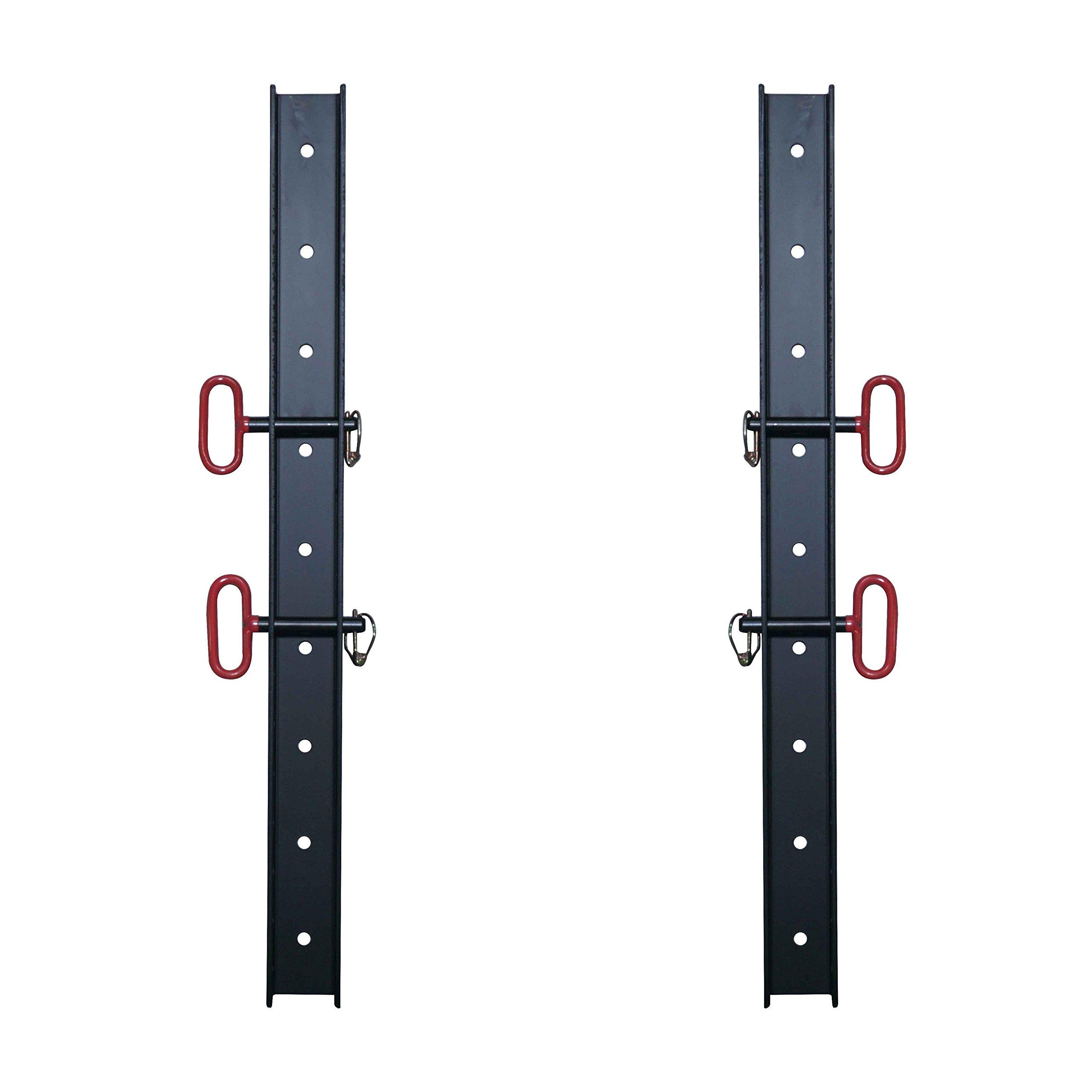 (2) 2'' x 3'' Wall Storage Strip for Titan T-3 Power Rack Accessories & Attachment