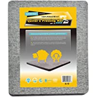 """Quilter's Pressing Pad - 100% Wool Ironing Mat, Provide Professional Results for Quilting Projects, 12"""" x 14"""""""