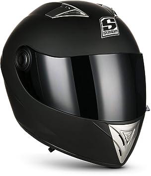 SOXON ST-550 Fighter · Moto motocicleta Fullface-Helmet Scooter Cruiser Sport Casco Integrale