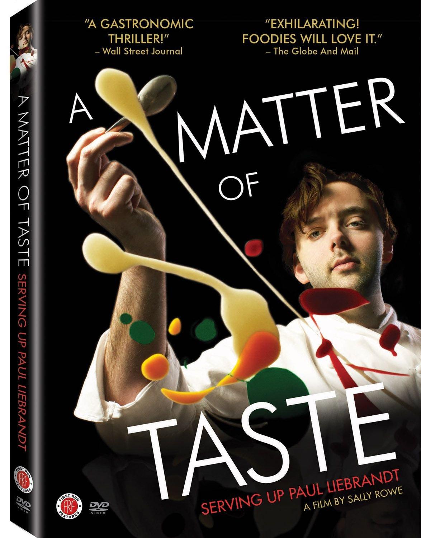 DVD : Grant Achatz - A Matter Of Taste: Serving Up Paul Liebrandt (DVD)