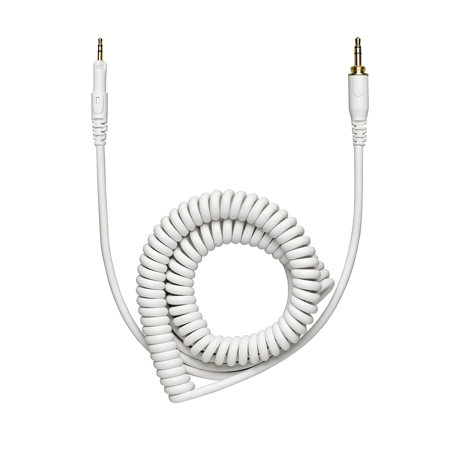 Audio-Technica HP-CC-WH Replacement Coiled Cable for M Series Headphones