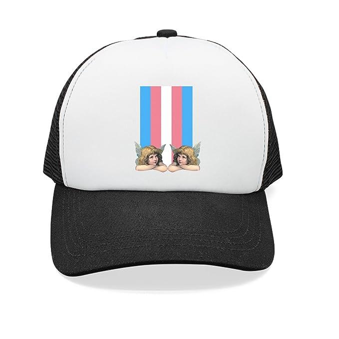 0cbf5d995 Amazon.com: Trum Namii Unisex Mesh Back Trucker Hats Transgender ...