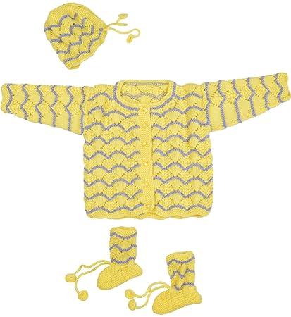 e91a5fc73 Kuchipoo Unisex Hand Knitted Sweater Set (0 - 6 Months