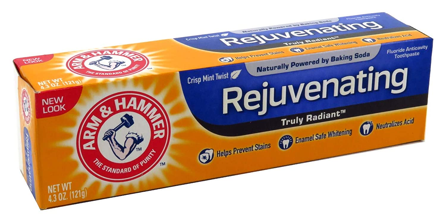 Arm & Hammer Toothpaste Truly Radiant Whitening 4.3 Ounce (127ml) (3 Pack)