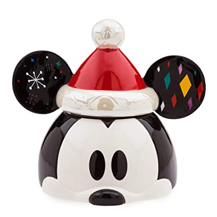 Disney Cookie Jars >> Disney Mickey Mouse Holiday Cookie Jar