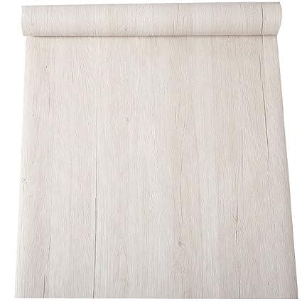 Impermeabile Luce Legno Rustico Vinile Contact Paper Shelf Liner