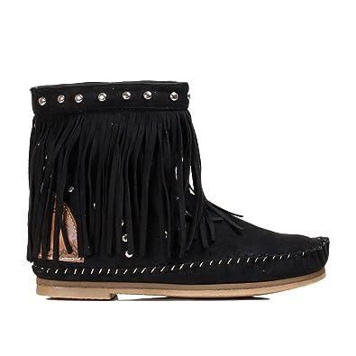 Toocool Zapatillas de Material Sintético Para Mujer Negro Size: 40 NeNs0