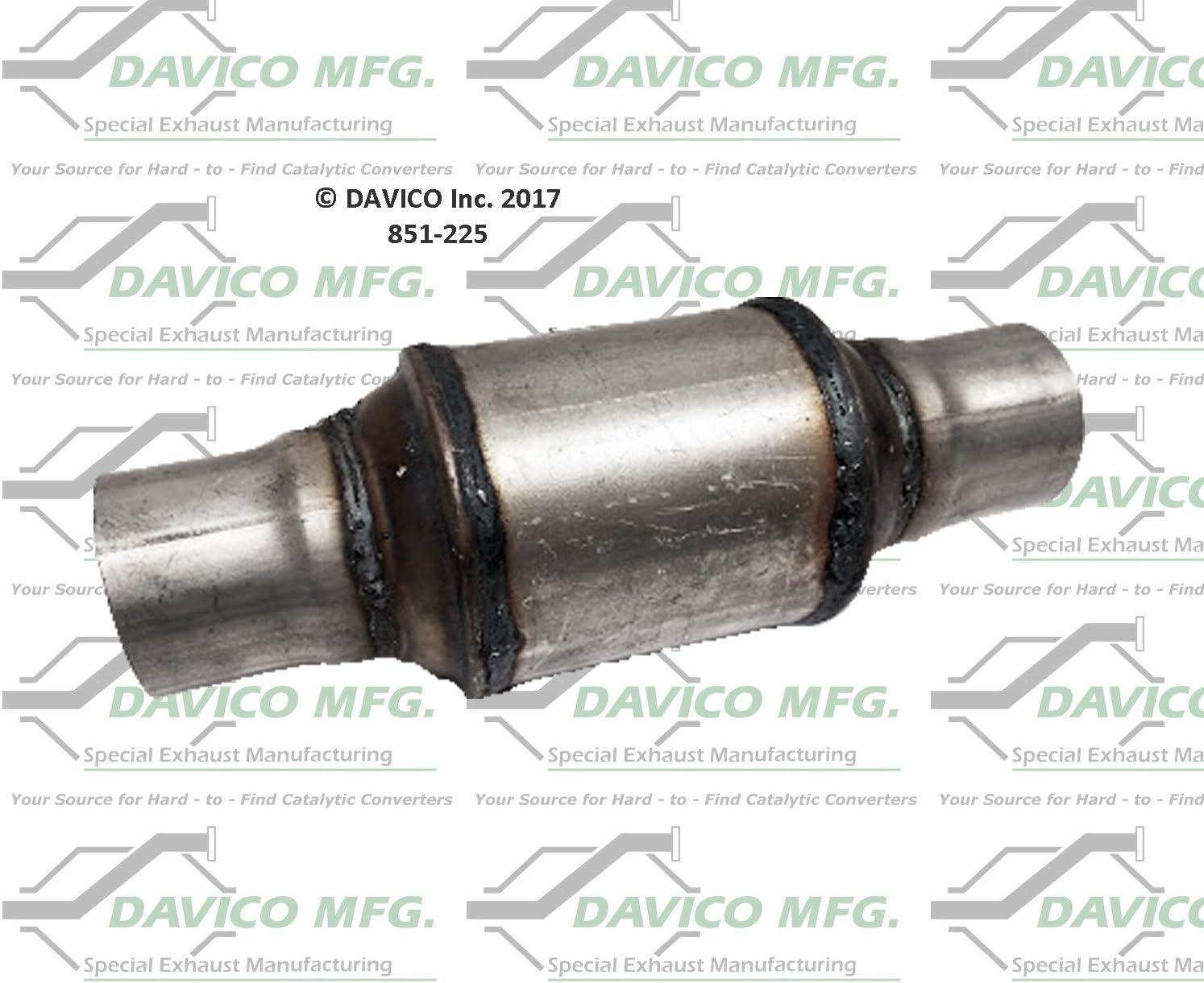 Davico 851-225 Universal catalytic converter