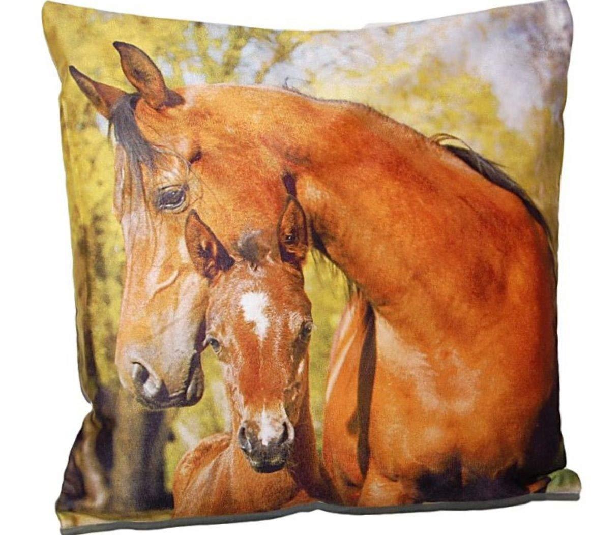 #1 CAOLATOR Baumwolle Leinen Kissenbez/üge Kreatives Laufendes Pferd Form Kissen Fall Einfach Tiere Thema Stil Sofa Kaffee Room Dekorative Kissenh/ülle 45 45cm