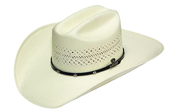 d41111a6b5594 Ariat Men s 20X Cattleman Crease Cowboy Hat at Amazon Men s Clothing ...