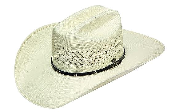Ariat Men s 20X Cattleman Crease Cowboy Hat at Amazon Men s Clothing ... 3e6a3135253