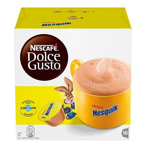 22 opinioni per NESCAFÉ DOLCE GUSTO NESQUIK Bevanda al gusto di cioccolato 3 confezioni da 16