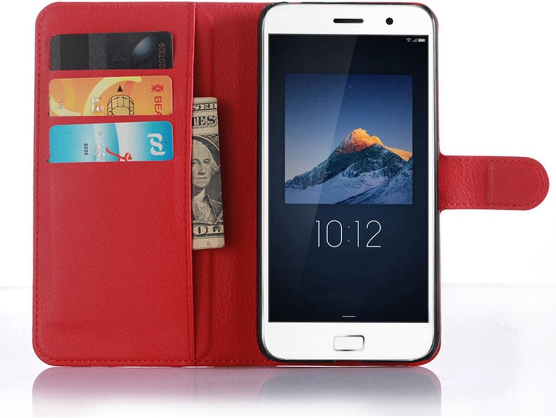 Ycloud Funda Libro para Lenovo ZUK Z1, Suave PU Leather Cuero con ...
