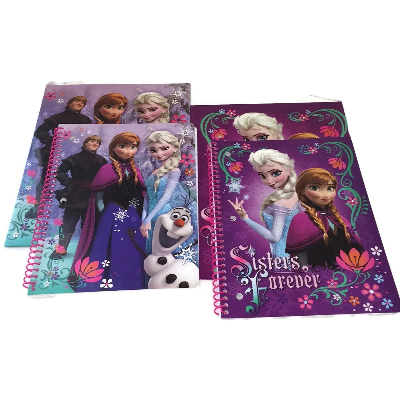Disney Frozen 1 Subject Wide Ruled Notebook & Portfolio 2 Pocket Folder