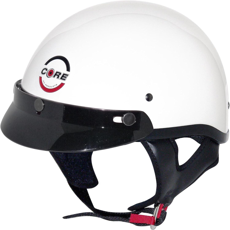 Core Cruiser Shorty Half Helmet Flat Black, Small