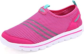 Also Easy Exquisite Womens Quick Drying Aqua Water Shoes Red9 B(M) US Hot